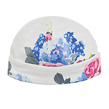 Buy Baby Joule Floral Bonnet Hat, Multi Online at johnlewis.com