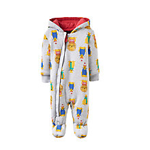 Buy Baby Joule Lion Pramsuit, Grey Online at johnlewis.com