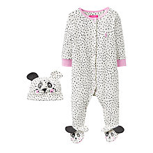 Buy Baby Joule Joy Novelty Sleepsuit Set, Cream Online at johnlewis.com