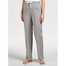 Buy Calvin Klein Geo Print Pyjama Bottoms, Grey Online at johnlewis.com