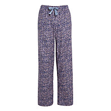 Buy Calvin Klein Layered Spot Pyjama Bottoms, Blue Online at johnlewis.com