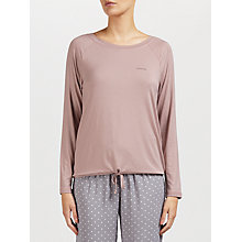 Buy Calvin Klein Drawstring Long Sleeve Pyjama Top Online at johnlewis.com