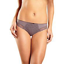 Buy Chantelle Merci Brazilian Brief, Iced Chestnut Online at johnlewis.com