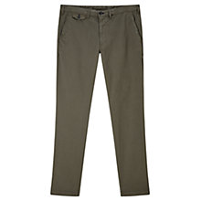 Buy Jigsaw Garment Dye Slim Fit Trousers Online at johnlewis.com
