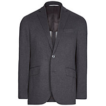 Buy Hackett London Pique Jersy Blazer, Grey Online at johnlewis.com