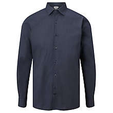 Buy J. Lindeberg Daniel Mini Print Shirt, Power Blue Online at johnlewis.com