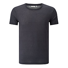 Buy J. Lindeberg Sev Native T-Shirt, Power Blue Online at johnlewis.com