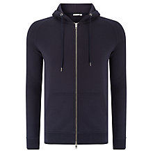 Buy J. Lindeberg Regular Fit Rand Zip Hoodie, Midnight Online at johnlewis.com