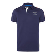 Buy Hackett London Taped Detail Polo Shirt, Online at johnlewis.com