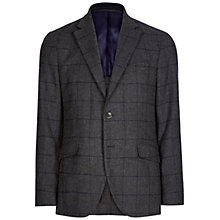 Buy Hackett London Windowpane Blazer, Grey/Navy Online at johnlewis.com