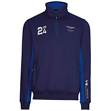 Buy Hackett London Aston Martin Racing 24 Hour Top, Navy Online at johnlewis.com