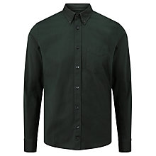 Buy J. Lindeberg Daniel  Stretch Oxford Shirt, Maori Green Online at johnlewis.com