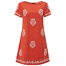 Buy White Stuff Deco Tunic, Indian Orange Online at johnlewis.com