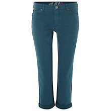Buy White Stuff Southern Ocean Slim Fit Cropped Jeans, Empire Green Online at johnlewis.com