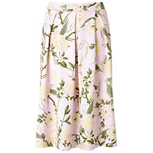 Buy Miss Selfridge Floral Midi Skirt Online at johnlewis.com