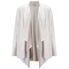 Buy Miss Selfridge Waterfall Cardigan, Oatmeal Online at johnlewis.com