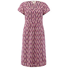 Buy White Stuff Ivy Cottage Dress, Royal Purple Online at johnlewis.com