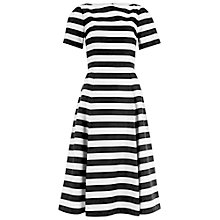 Buy Damsel in a Dress Stripe Coco Dress, Black/White Online at johnlewis.com