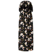 Buy Miss Selfridge Bandeau Maxi Dress, Multi Online at johnlewis.com