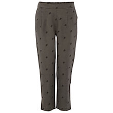 Buy White Stuff Peacock Crop Trousers, Grey Online at johnlewis.com