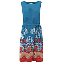 Buy White Stuff Secret Garden Dress, Empire Green Online at johnlewis.com