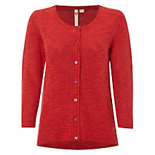 Buy White Stuff Lucky Cardigan, Indian Orange Online at johnlewis.com