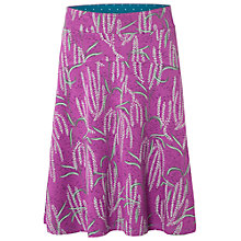 Buy White Stuff Darjeeling Jersey Skirt, Royal Purple Online at johnlewis.com