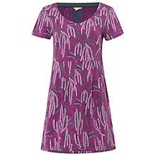 Buy White Stuff Souvenir Jersey Tunic Top, Royal Purple Online at johnlewis.com