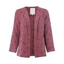 Buy White Stuff Kota Linen Jacket, Souvenir Red Online at johnlewis.com