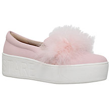 Buy KG by Kurt Geiger Lulu Flatform Trainers Online at johnlewis.com
