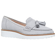 Buy Carvela Limbo Wedge Heeled Loafers, Grey Online at johnlewis.com