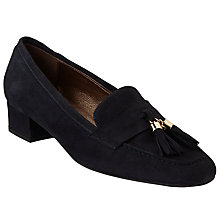 Buy John Lewis Anna Tassel Block Heeled Loafers Online at johnlewis.com