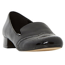 Buy Dune Garcon Block Heel Court Shoes Online at johnlewis.com