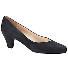 Buy John Lewis Ash Block Heeled Court Shoes Online at johnlewis.com