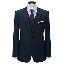 Buy Hackett London Super 110s Wool Pindot Chelsea Regular Fit Suit Jacket, Indigo Online at johnlewis.com