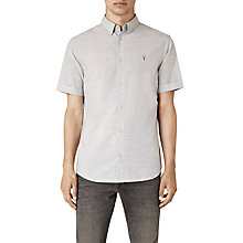 Buy AllSaints Avila Slim Fit Short Sleeve Shirt Online at johnlewis.com