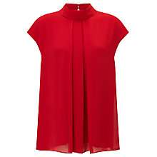Buy John Lewis Front Pleat Roll Neck Top Online at johnlewis.com