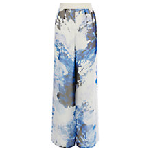 Buy Coast Meleri Organza Trousers, Ivory Online at johnlewis.com