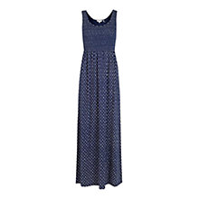 Buy Fat Face Arundel Batik Ditsy Dress, Navy Online at johnlewis.com