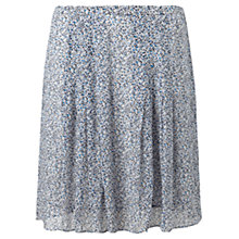 Buy Jigsaw Confetti Flippy Skirt, Sugared Violet Online at johnlewis.com