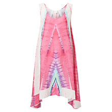 Buy East Linen Abstract Dress, Multi Online at johnlewis.com
