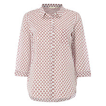 Buy White Stuff Woodblock Cotton Shirt, Multi Online at johnlewis.com