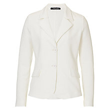 Buy Betty Barclay Fine Textured Jacket, Off White Online at johnlewis.com
