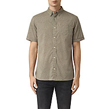 Buy AllSaints Bulb Short Sleeve T-Shirt, Balsam Green Online at johnlewis.com