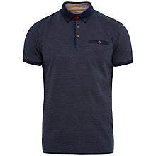 Buy Ted Baker Yoland Jacquard Cotton Polo Shirt Online at johnlewis.com