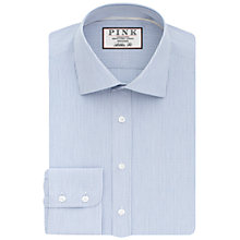 Buy Thomas Pink Hurston Check Athletic Fit Shirt, White/Navy Online at johnlewis.com