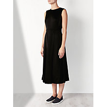 Buy Kin by John Lewis Limited Edition Pleat Backless Dress, Black Online at johnlewis.com