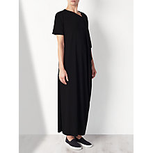 Buy Kin by John Lewis Limited Edition Crepe Jersey Drape Dress, Black Online at johnlewis.com