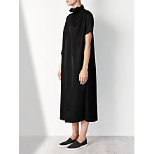 Buy Kin by John Lewis Limited Edition Ruched Neck Dress, Black Online at johnlewis.com