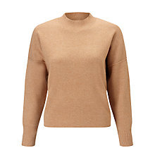 Buy Kin by John Lewis Compact Wool Knit Jumper, Camel Online at johnlewis.com